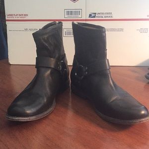 Frye Short Harness Boots